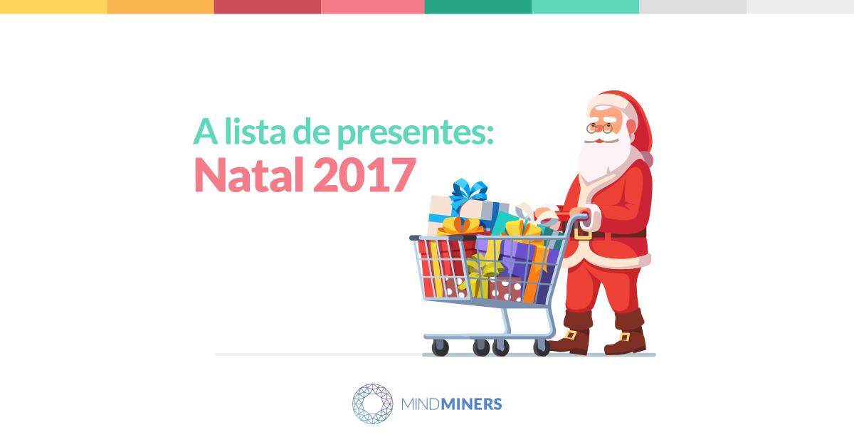 A lista de presentes: Natal 2017