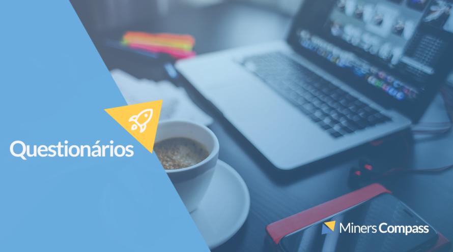 Questionários MindMiners: Pesquisa UX User Experience, Website e Aplicativos