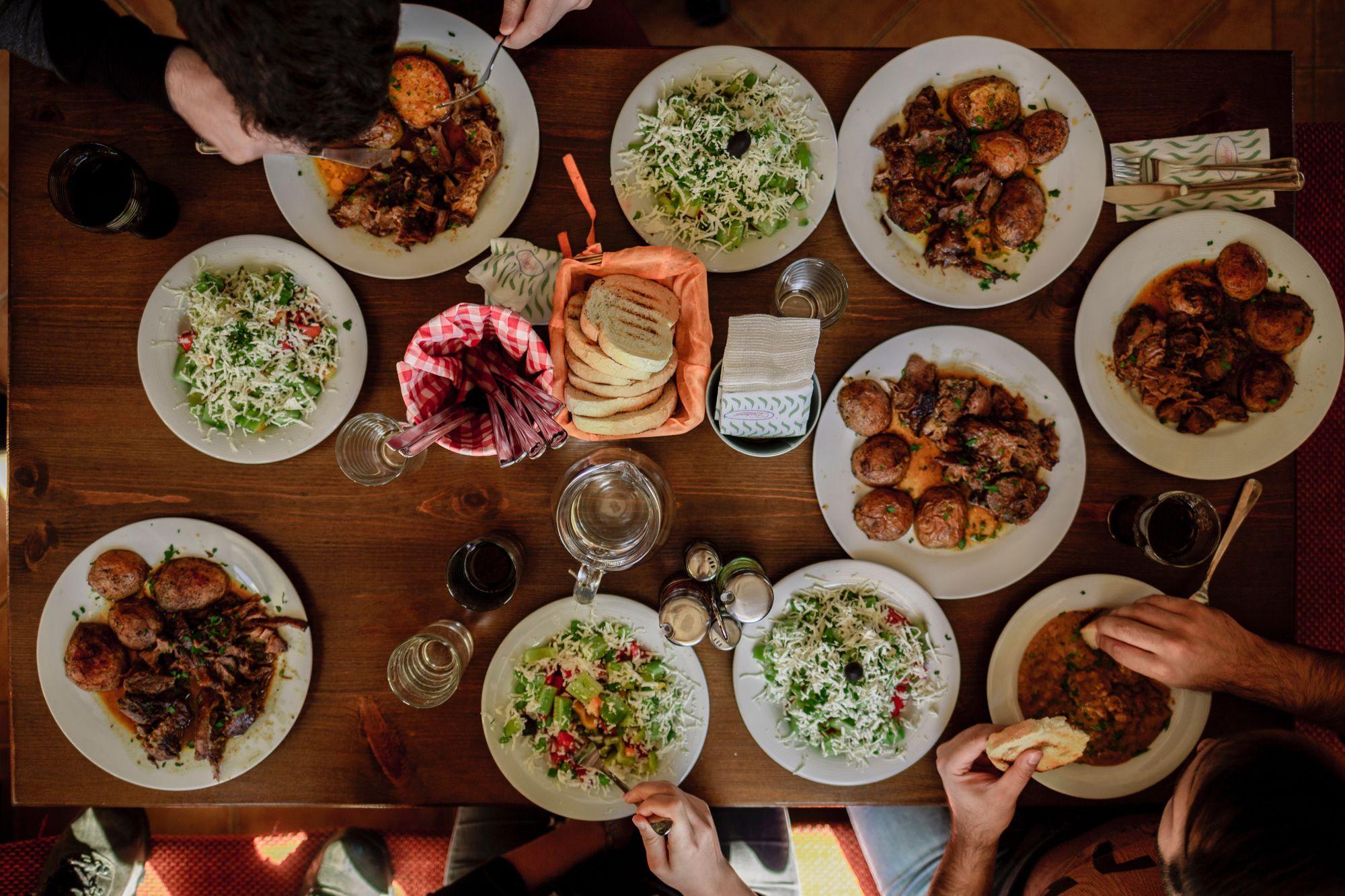 A mesa do consumidor brasileiro