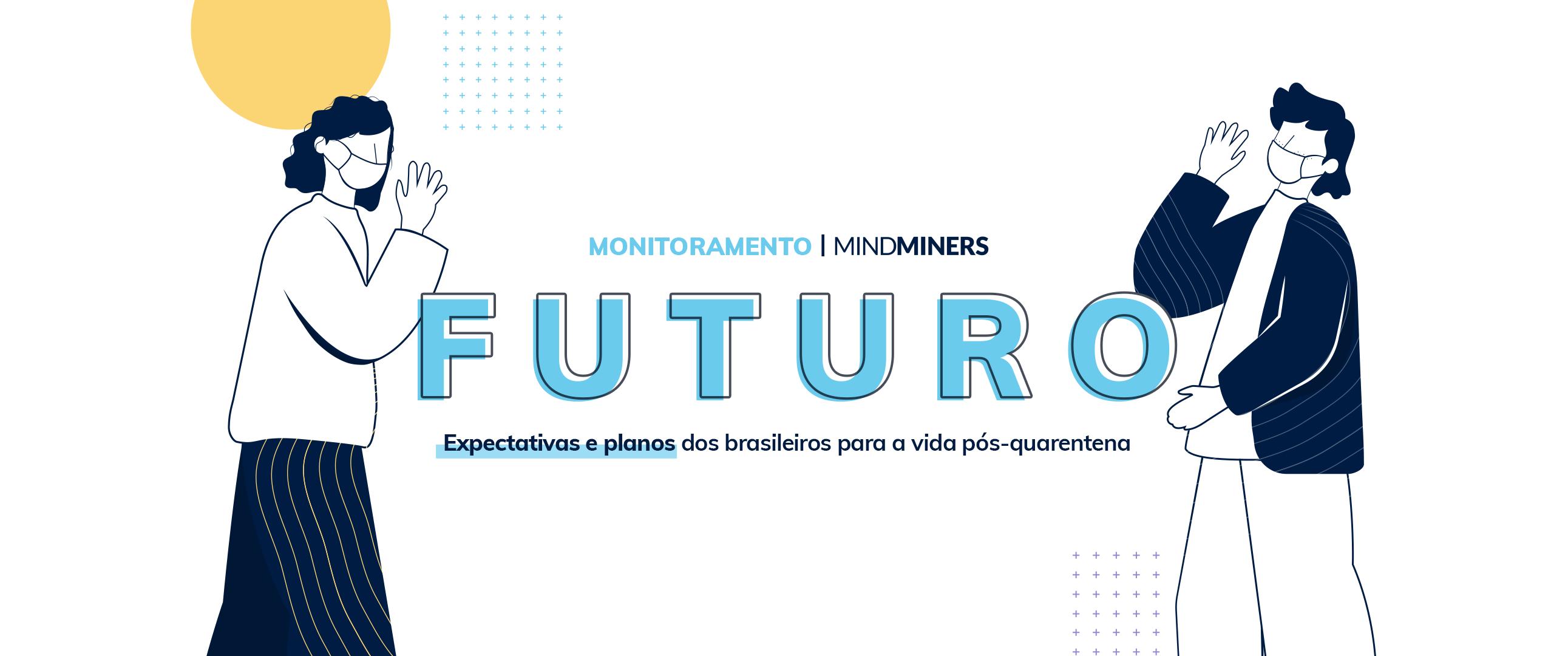 Futuro: Expectativas e planos dos brasileiros para a vida pós-quarentena